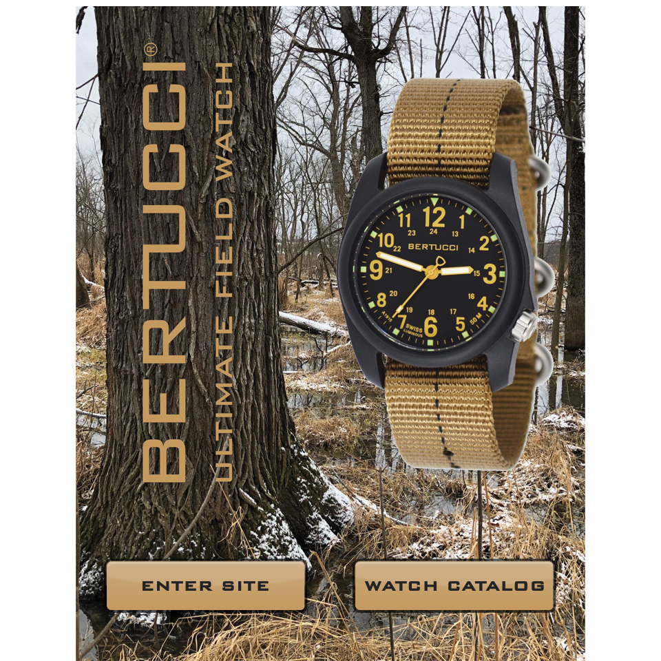 enter Bertucciwatches.com